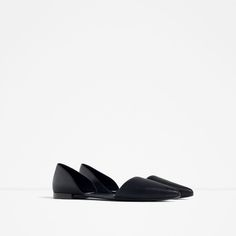 FLAT D'ORSAY SHOES-View all-SHOES-WOMAN | ZARA United States