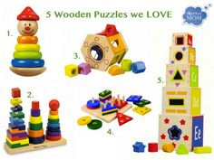 Wooden toys make great first birthday gifts, require no batteries and the quality will last for years.