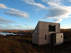 Fiscavaig // Rural Design //  Budget bach or housing?