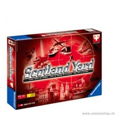 Scotland Yard Swiss Edition / Scotland Yard Swiss Edition is an exciting and adventurous game for young and old. Scotland, Baby, Games, Children, Infants, Gaming, Baby Humor, Babies, Toys