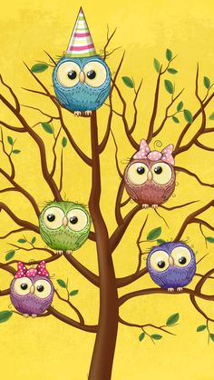 Best Iphone Wallpapers, Live Wallpapers, Wallpaper Backgrounds, Cute Owls Wallpaper, Paper Owls, High Quality Wallpapers, Belle Photo, Funny Cute, Painted Rocks