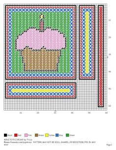 Mini Tote Cupcake