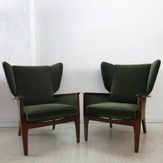 Wingback Chairs from Parker Knoll, Set of 2 Parker Knoll Chair, Knoll Chairs, Lounge Chairs, Chair Upholstery, Sofa Chair, Wingback Chairs, Armchairs, Mid Century Living Room, Home Living Room