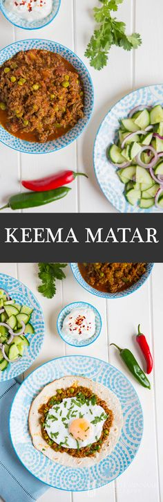 Keema Matar - Keema Matar, curried minced meat, is India's answer to the West's savoury mince.