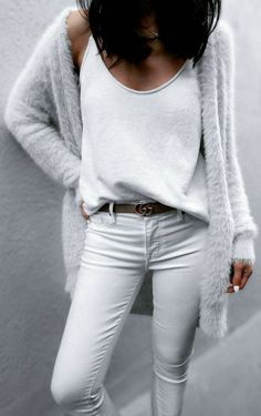 grey and white