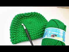 Einfache Mütze häkeln DIY, Anleitung für Anfänger - YouTube