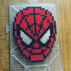Spiderman perler beads by jayrod