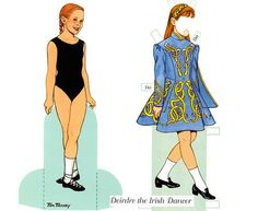 Little Dancers Dress Up Paper Dolls - by Dover Publications    This week Dover Publications freebie are these two Little Dancers Dress Up Paper Dolls. I think little girls will love it!
