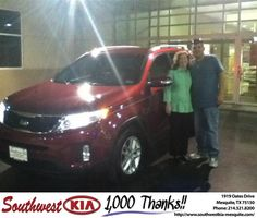 Ivan was a great sales person. He really worked with us on getting our monthly payment to where we wanted. - Hollie moncrief, Wednesday, October 09, 2013 http://www.southwestkia-mesquite.com/?utm_source=Flickr&utm_medium=DMaxx&utm_campaign=DeliveryMaxx