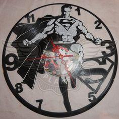 26,50 € Horloge vinyle décoration superman