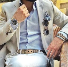 Elegant casual men outfit