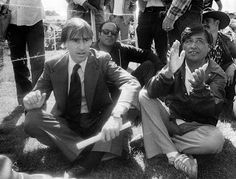 California Governor Jerry Brown and UFW president Cesar Chavez participate in a UFW rally in Salinas on August Courtesy Monterey County Herald. Harry Carey, Jerry Brown, Movie Sites, California History, Rare Images, Magazine Articles, Scene Photo, Picture Show, Storytelling