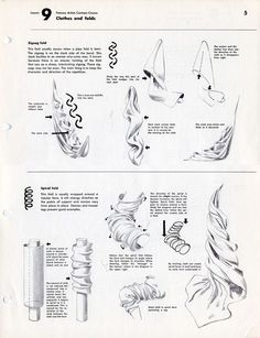Academy of Art Character and Creature Design Notes: Famous Artist's Cartoon Course: Lesson 9: Clothes and Folds