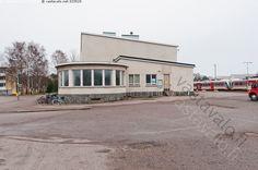 Hangon rautatieasema Finland