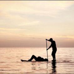 El #SupPrenatal es una de las actividades más recreativas para practicar en pareja