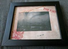 Stot21stcplanb London the end BT tower gets it! framed print not Banksy Duo