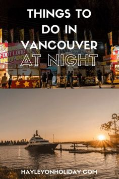 Read my guide for things to do in Vancouver at night, including markets, sports events and fun attractions. Canada Vancouver, Visit Vancouver, Vancouver Washington, Montreal Canada, Vancouver Vacation, Vancouver Travel, Attractions In Vancouver, Stuff To Do, Things To Do