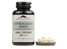 Mountain Rose Herbs: Astragalus Root Capsules