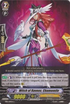 Witch of Ravens, Chamomile - Cardfight!! Vanguard Wiki