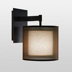 Bathroom Sconces With Outlet wall lamp paillotte - bleu nature | cottage lighting | pinterest
