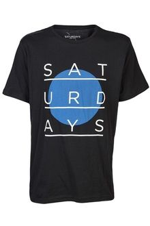 Saturdays Surf Nyc Relief Circle Shirt - Lyst