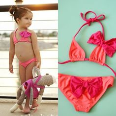 Seriously how fricken adorable is this babykini? Patriotic Swimwear, Toddler Swimsuits, Cute Baby Clothes, Bikinis, Cute Babies, Parents, Swimming, Button, Sexy