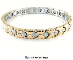Magnetic Anklet Stainless Steel Style #36