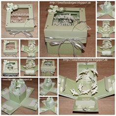 Stampin Up , Wedding card, Explosion Box , Zur Hochzeit , Box , Boxes , Dove…