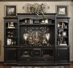 DECORATING TOPS OF ENTERTAINMENT CENTERS PINTEREST | how to ...