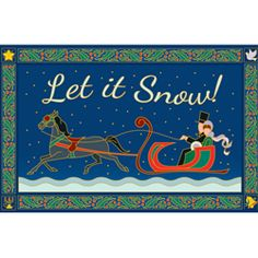 Let it Snow Navy - Print Gallery palette