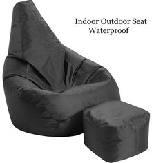 #Bean #Bag #Chair #Foot #Stool G#aming #Childrens #Indoor #Outdoor #Seat #Kids #Shape #Beans
