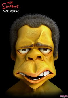 This is What The Simpsons Would Look Like in 3D | Girly Design Blog