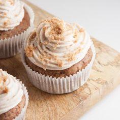 Vegan Gingerbread Cupcakes | ElephantasticVegan.com