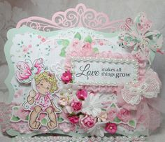Magnolia Tilda Mothers Day Card for Nit Wit Collections DT