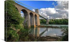 Menai Bridge by Jason Moss