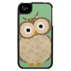 Cute Baby Owl Iphone 4 Covers by In case