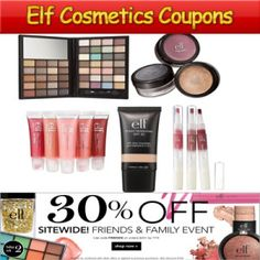 Coupons For Elf Products