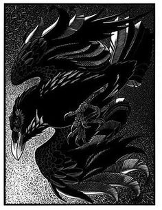 Unkindness of Ravens II  by Colin See-Paynton