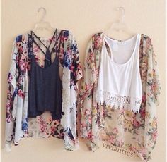 Love floral kimonos lately