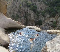 Top 10 wild swimming locations in Italy - Rio Pitrisconi. Places Around The World, Oh The Places You'll Go, Places To Travel, Places To Visit, Around The Worlds, Italy Vacation, Vacation Spots, Italy Travel, Italy Trip