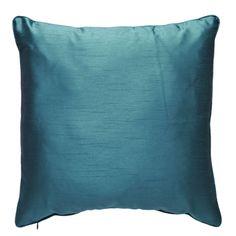 Wilko Paris Faux Silk Cushion Teal £4