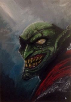 Goblin smile :D by shiprock.deviantart.com on @DeviantArt