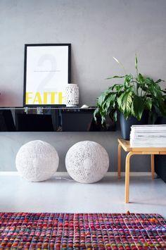 Kierrätysmatto tuli kotiin - P. Clever Design, Tuli, Recycling, Interior Ideas, Colour, Furniture, Home Decor, Color, Decoration Home