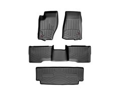 1st,2nd,3rd row $239.85 - 2010 Jeep Commander | WeatherTech FloorLiner custom fit car floor protection from mud, water, sand and salt. | WeatherTech.com