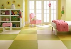 There are two primary brands of linoleum sold today: Marmoleum by Forbo and Marmorette by Armstrong. Both materials come as tiles or sheets but are most commonly seen as sheets.