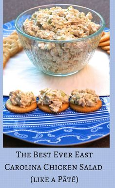 Southern chicken salad. No grapes, nuts, or fancy things.