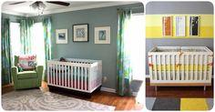 Cómo elegir el o los colores para la habitación del bebé