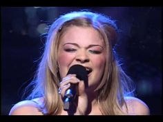 LeAnn Rimes - How Do I Live...this is one of my favorite songs EVER. Lee Ann Rimes is just so awesomely talented.