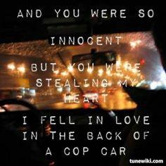 Keith Urban  Cop Car.