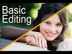 Photography Tips | Photo editing advice | Adobe Photoshop CS6 - Basic Editing Tutorial For Beginning Photographers